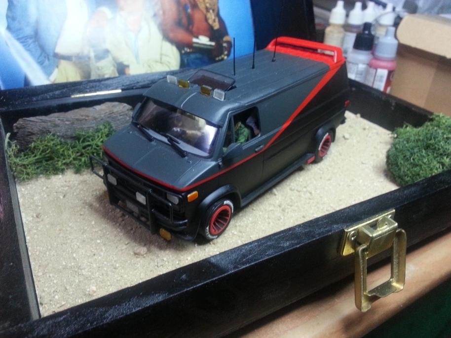 EL EQUIPO A  DANTA MODEL CARS