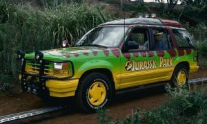 Jurassic Park dantamodelcars